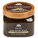 Tree Hut Shea Sugar Scrub, Brazilian Nut, 18 Ounce (Pack of 3)