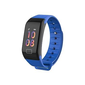 SoloKing F1 Pulsera Actividad Reloj Pulsera Inteligente con Pulsómetros,Sueño,Podómetro,Calorías,Llamadas/Mensajes/Whatsapp Alertas
