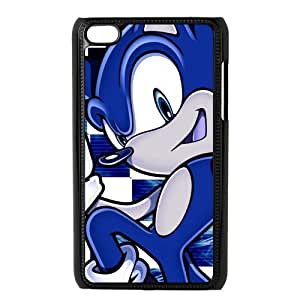 SpecialCasedesign Personalized Sonic the Hedgehog Ipod Touch 4 Case Best Durable Back Cover