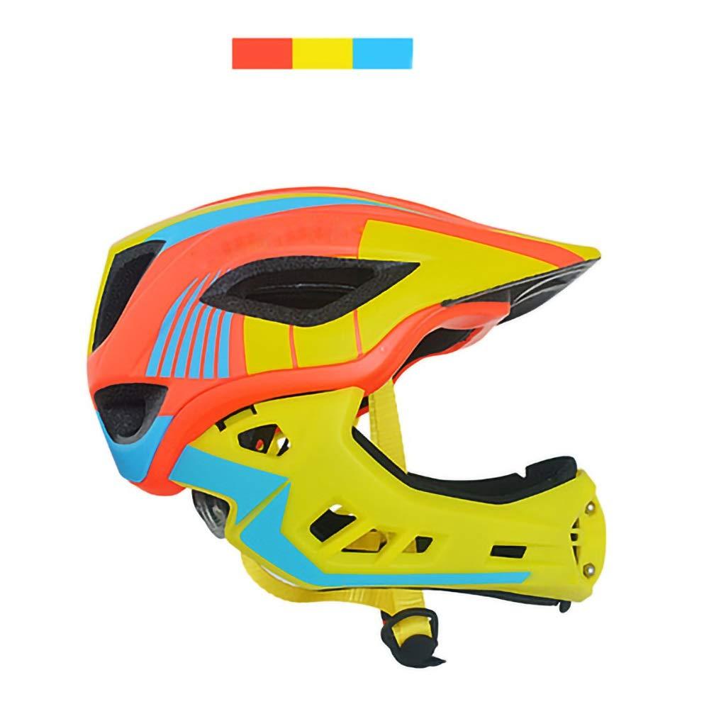 Meet now 子供用安全ヘルメット調節可能なサイズ耐衝撃性取り外し可能保護ヘッド安全スポーツ用品自転車スケートスキースポーツ用ヘルメット 品質保証  Parttern-05 B07QZDFH25