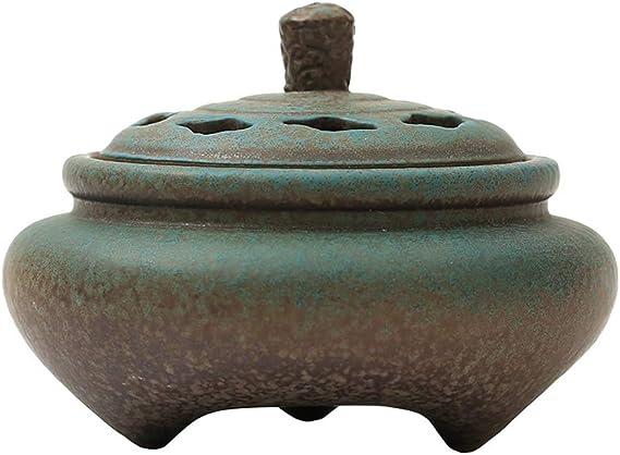 芳香器・アロマバーナー セラミック香炉ホーム屋内アロマ炉クリーンエアサンダルウッドストーブホームリビングルーム香炉 アロマバーナー芳香器