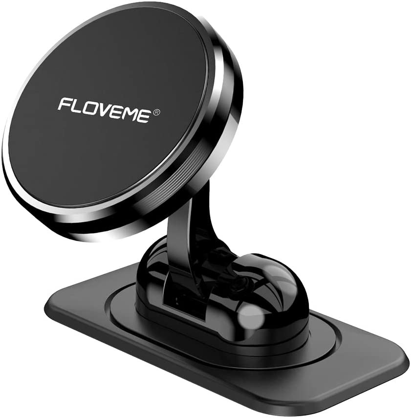 Dashboard Car Phone Holder Windshield Air Vent Cell Phone Stand One-Touch Design 360/° Rotating Suction Mount Cradle Compatible with iPhone//Galaxy//Google Nexus//LG//Huawei//3.5-6.5 Phone Car Phone Mount
