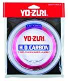 Yo-Zuri H.D. Fluorocarbon Wrist Spool 100-Yard Leader Line, Pink, 50-Pound For Sale