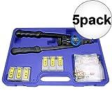 Astro Pneumatic 1442 Nut/Thread Hand Rivet Kit 5-Pack