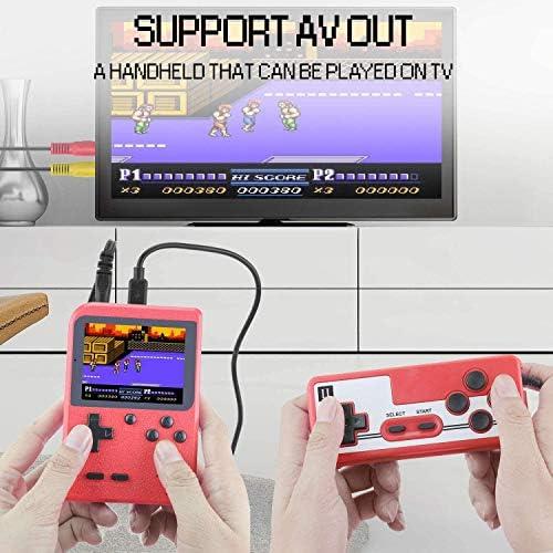 ETPARK Consola de Juegos Portátil, 400 Juegos Retro 2.8 Pulgadas ...