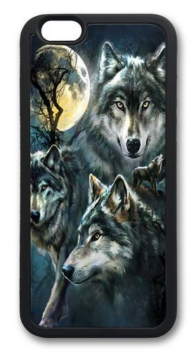 Custom Animals Design Wolves iPhone