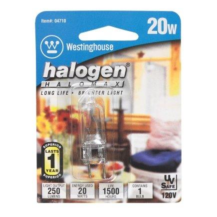 Westinghouse 20- Watt T4 120V GY-7, 9 Light Bulb 04710