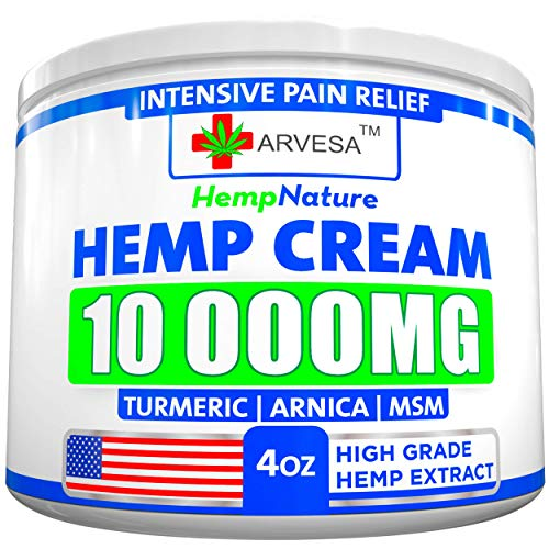 Hemp Pain Relief Cream Inflammation product image