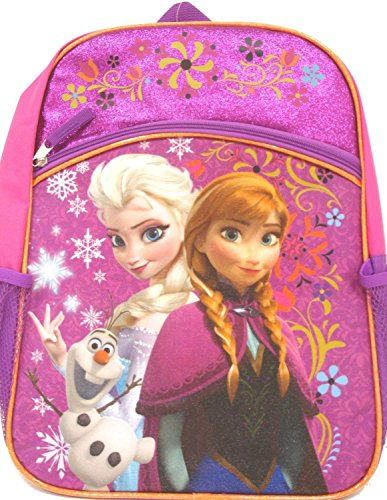 Frozen Backpack with Lower Front Pocket, 16