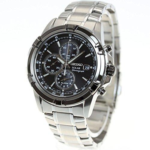 [세이코]SEIKO 솔라 손목시계 맨즈 세이코 역수입 크로노그래프 SSC147P1(SSC147PC)