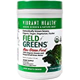 Vibrant Health - Field of Greens, 100% Organic Greens and Freeze Dried Grass Juices, 30 servings (FFP)