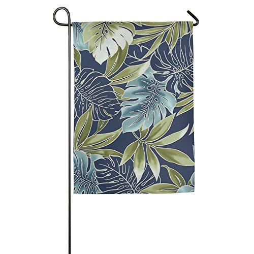 Cheap  Hawaiian Flower Party Summer Beach Initial Seasonal Patio Garden Flags All-Weather Polyester