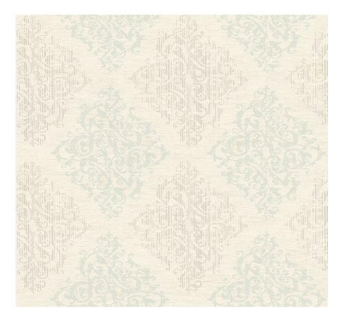 York Wallcoverings LD7703SMP Jewel Box Marquise 8-Inch x 10-Inch Wallpaper Memo Sample (Marquise Wallpaper)
