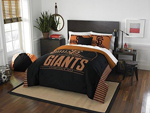 Sports Team Bedding - The Northwest Company MLB San Francisco Giants Grandslam Full/Queen Comforter and 2 Sham Set