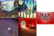 Tame Impala: Complete CD 4 Studio Album Discography (Innerspeaker / Lonerism / Currents / The Slow Rush) with
