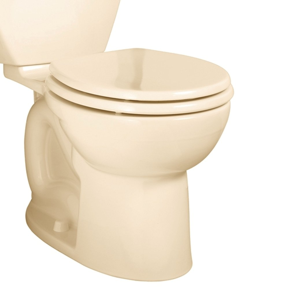 American Standard 3011.016.021 Cadet-3 Round Front Toilet Bowl, Bone (Bowl Only)