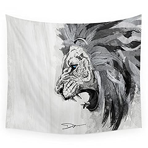 Society6 Lion - The King Of The Jungle Wall Tapestry Large: 88