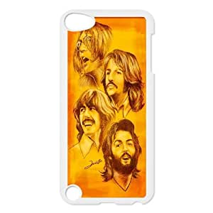 Popular band poster The Beatles Hard Plastic phone Case FOR Ipod Touch 5 FANS230674