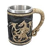 Dragon Skeleton Tankard 16 oz. Mug