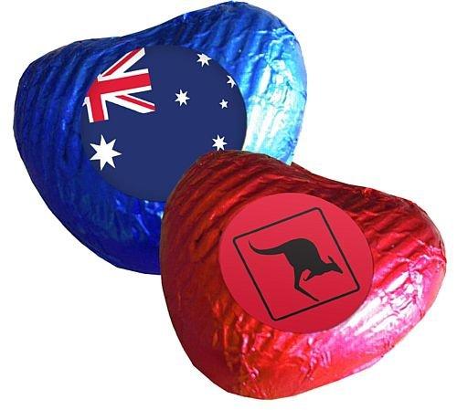 AmerTraders Cioccolatini Cuore Australiano - Confezione 24