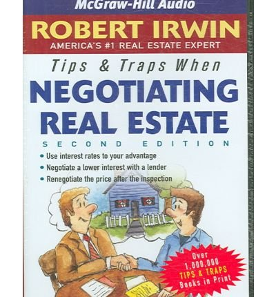 Tips & Traps When Negotiating Real Estate (CD-Audio) - Common by American Media International LLC