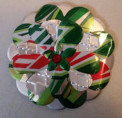 Mountain Dew Soda Pop Can Flower Magnet (Dew Flowers)