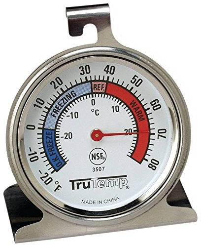 Tru Temp Refrigerator-Freezer Thermometer, 3 Pack by Taylor Precision Products