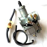 YunShuo KEIHIN Carburetor PZ30mm CG200 Carb with Accelerate Pump Honda 175cc 200cc Motor