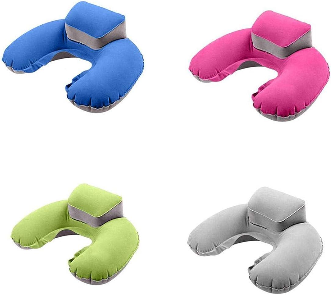 Setsail Spielraumim freien Spielraum U-f/örmiger Beutel aufblasbares Kissen 3D Reisekissen aufblasbares nackenkissen tragbarer aufblasbarer Schlaf