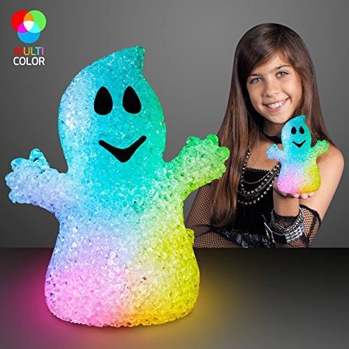 (Soft Glow Halloween Ghost Decoration with Color Change)