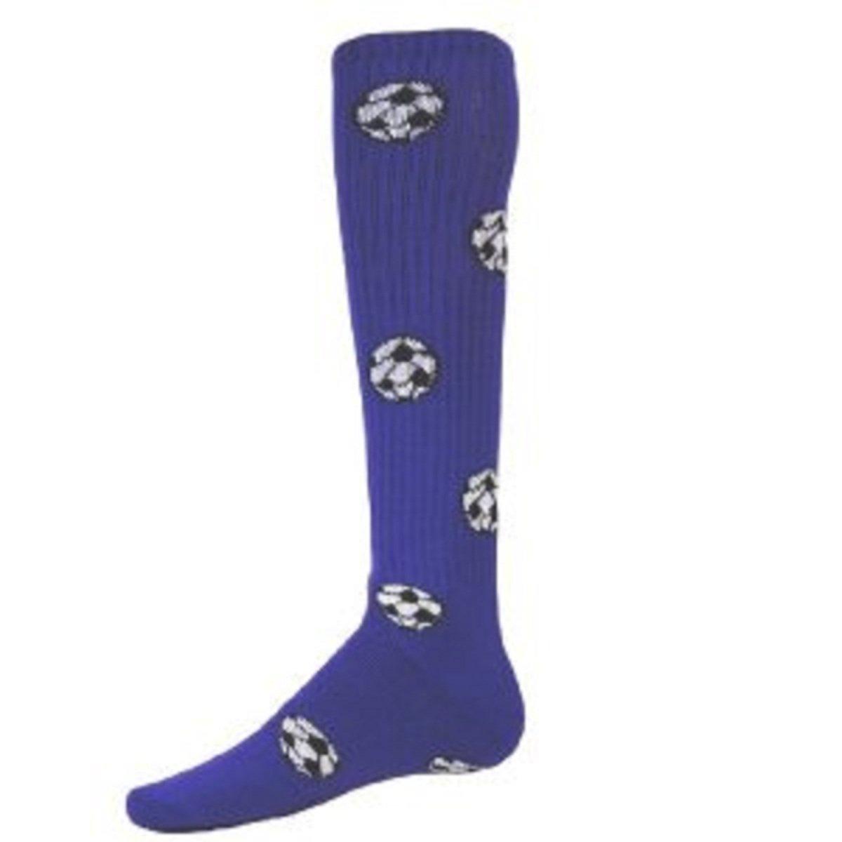 Red Lion Socks サッカーボール柄アスレチックソックス B008EMEI1S Medium|ゴールド ゴールド Medium