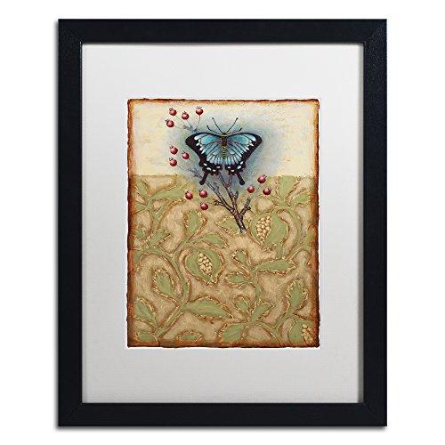 Salt Meadow Butterfly by Rachel Paxton, White Matte, Black Frame - Butterfly Salt Meadow