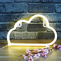 XIYUNTE Led Neon Lights Wall Light Battery or USB Operated Neon Signs