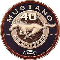 ECONG Ford Mustang Letrero De Pared De Metal