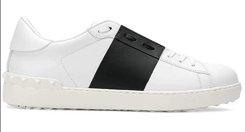 a610c4ad31 VALENTINO GARAVANI Sneakers Scarpe Uomo QY2S0830-A01 Bianco Nero ...