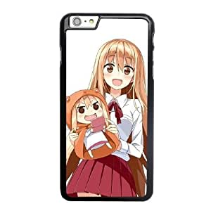 Grouden R Create and Design Phone Case, himouto umaru chan Cell Phone Case for iPhone 6 6S 4.7 inch Black + Tempered Glass Screen Protector (Free) LPC-8024823