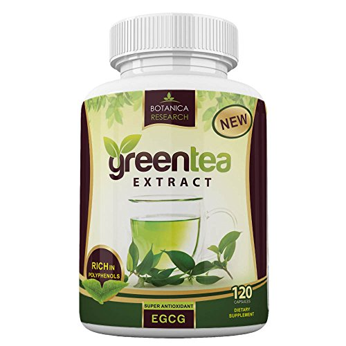 Green Tea Extract EGCG Polyphenols Supplement Stomach Fat Bu