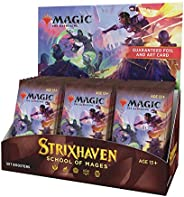 Magic The Gathering Strixhaven Set Booster Box | 30 Packs (360 Magic Cards)