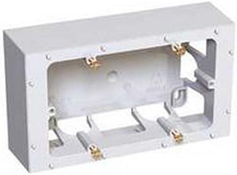 Schneider Electric ALB45444 Caja de conexión eléctrica - Cuadro eléctrico (Color Blanco, 140 mm, 40 mm, 80 mm, 77 g): Amazon.es: Bricolaje y herramientas