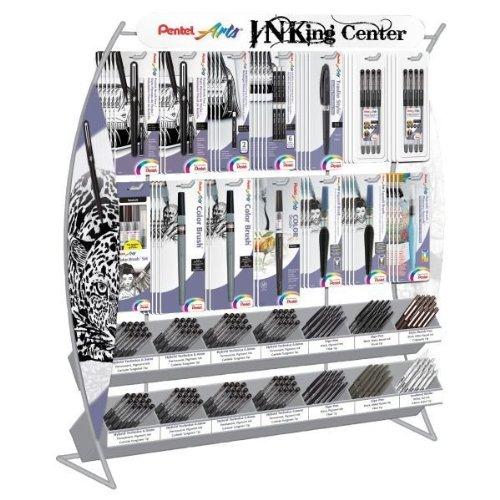 Pentel Inking Center Display Assortment (IC252BPOS) by Pentel