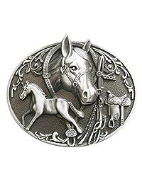 New Vintage Horses Rodeo Western Belt Buckle Gurtelschnalle Boucle de ceinture