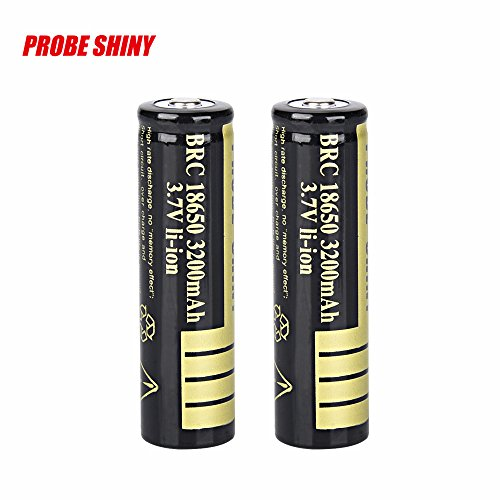 3200 Mah Mobile - 2 Pcs/Set 3.7V 18650 3200mah Li-ion Rechargeable Battery Lithium Batteries for LED Flashlight Torch, Electric Tools, Remote Control, LED Flashlights, Mobile Power, Small Fan, Radio, Toy