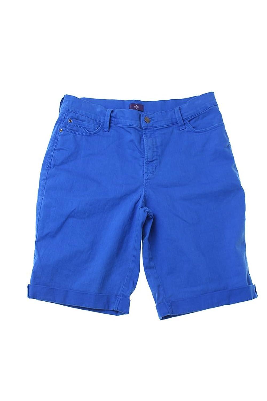 Nydj Blue Denim Bermuda Shorts