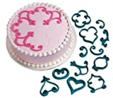 Wilton 2104-3160 12-Piece Cake-Decorating Press Set, Decorator Favorites
