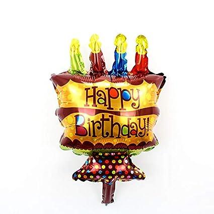 Amazon 1 Piece Cartoon Mini Princess Birthday Cake Helium Foil