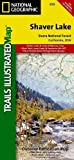 Search : Shaver Lake / Sierra National Forest, California (Trails Illustrated Map) (National Geographic Trails Illustrated Map)