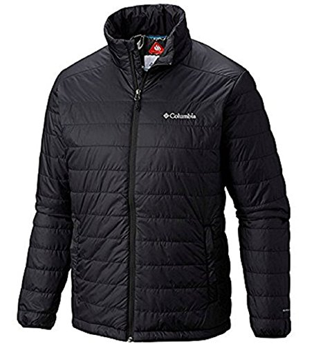 Columbia Mens Crested Butte II Omni-Heat Jacket, BLACK (XXL) (Thermal Shell Jacket)
