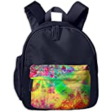 Abstract Brightness LSD Psychedelic Trippy Print Children's Fashion Backpack School Bookbag