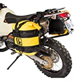 Tusk Pannier Racks with Wolfman Expedition Dry Saddle Bags YELLOW - KTM 950 990 ADVENTURE 2002-2013