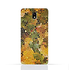 Samsung Galaxy J7 2017/J7 Pro TPU Silicone Case With Stained Glass Art Design